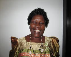 Gladys Kalibbala, award-winning journalist for New Vision, Uganda.
