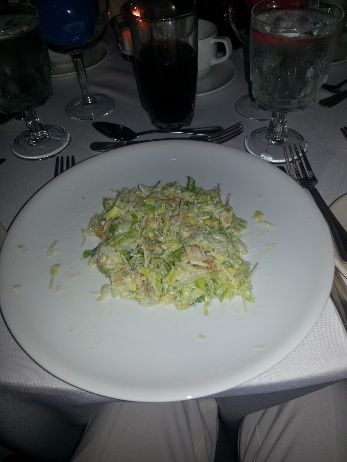 Cole Slaw Salad with Croutons