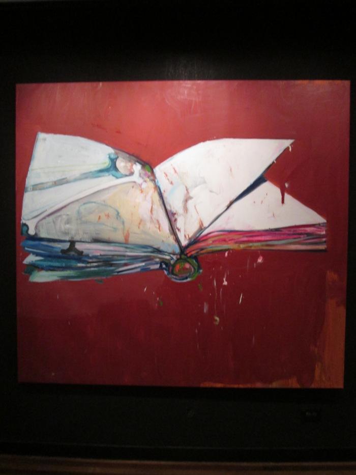El Libro de Todas Las Cosas 2014 Oil on Canvas