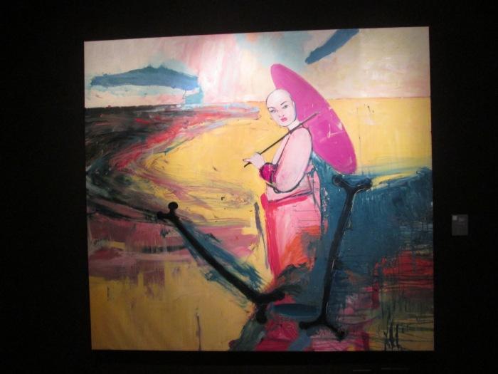 El Perro de San Roque No Tiene Rabo 2015 Oil on Canvas